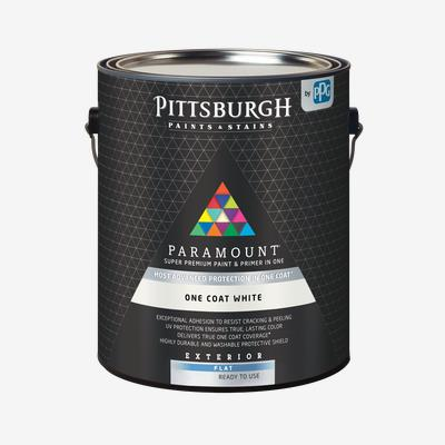 PARAMOUNT<sup>®</sup> Exterior One Coat White Paint & Primer