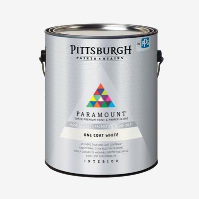 PARAMOUNT<sup>®</sup> Interior One Coat White Paint & Primer