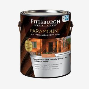 PARAMOUNT<sup>®</sup> Log Cabin & Wood Siding Finish