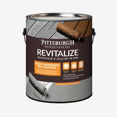 Best Deck Resurfacer 2021 Revitalize Resurfacer & Sealant in One   Heavy to Moderate