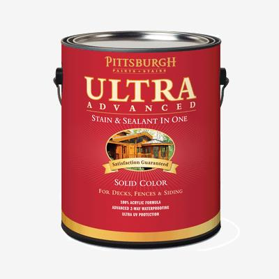 Ultra Advanced Exterior Stain - Solid Color