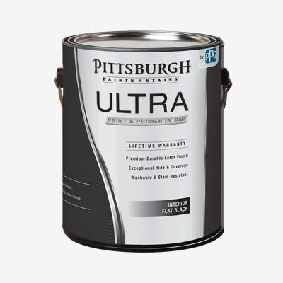 Ultra Interior Flat Black Paint