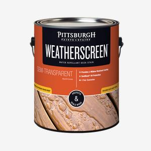WEATHERSCREEN<sup>®</sup> Exterior Stain - Semi-Transparent