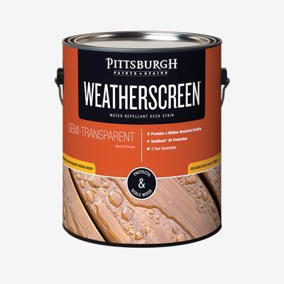 WEATHERSCREEN<sup>®</sup> Exterior Stain - Semi-Transparent